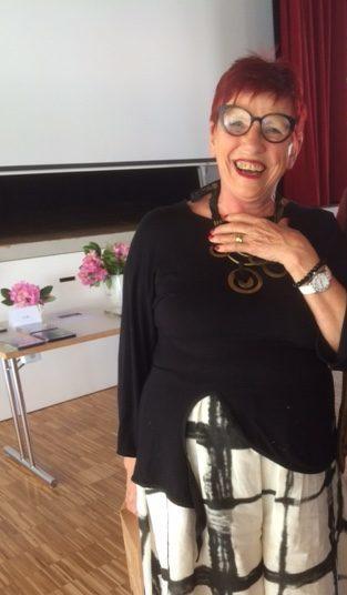 Notre présidente Laurette Favre
